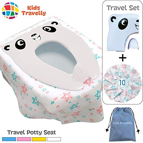 Disposable Toilet Seat Covers 25 Sheets 5 Bags Perfect Travel