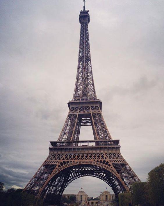 by @melaniejrobbins #EiffelTower #France The city of love with my love @batchybhappy #firstweddinganniversary #thebatchys2016 #eiffeltower
