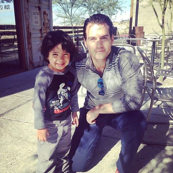 Henry Cavill's Special Magic with KIds