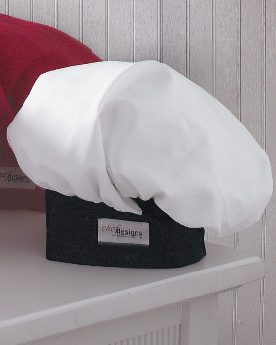 CHEF HAT to match Chef Coat for dad embroidered by ColorfulThreds