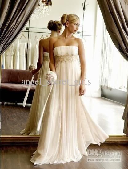 Buy cheap new sexy ivory gown prom dress size 2 with $115.36-132.16/Piece|DHgate