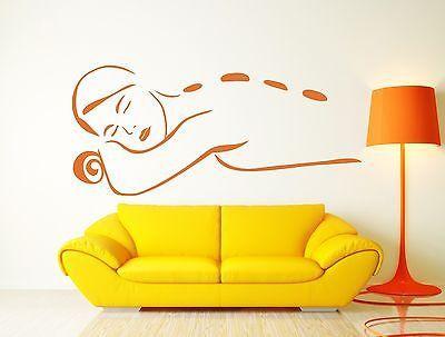 Wall Sticker Vinyl Decal Spa Beauty Salon Massage Relaxation Meditation (n125)