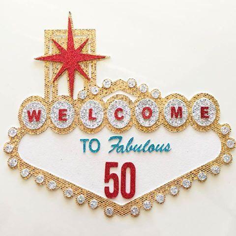 Las Vegas bienvenida de cumpleaños