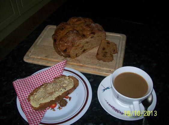 Traditional Irish Treacle Bread Recipe Sweet Dough Recipes Irish Recipes