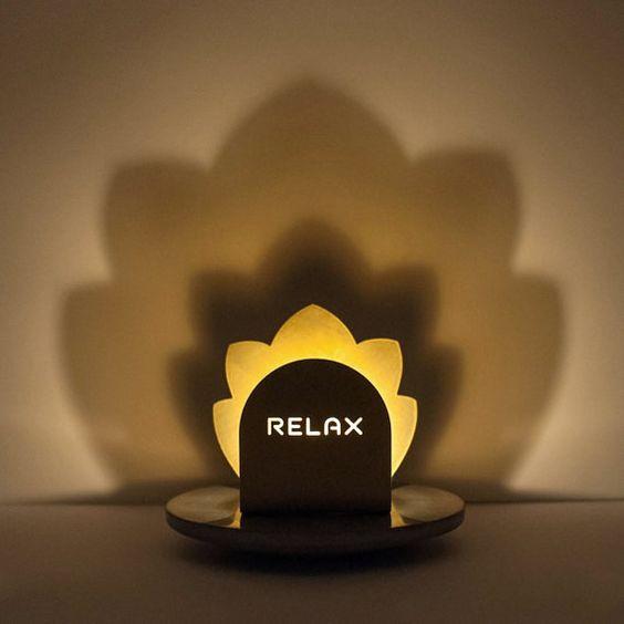 Verkauf Yoga-Kerze-Halter von GoodMoonDesigns auf Etsy