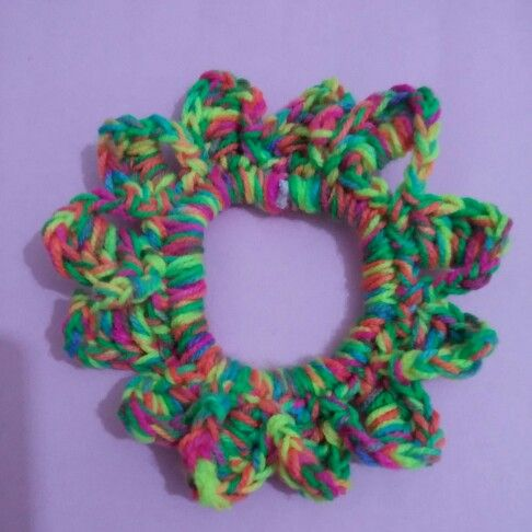 Toka keçe örgü crochet
