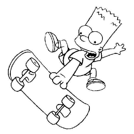 Die Simpsons 16 Ausmalbilder | Auto Hd Wallpapers | Pinterest