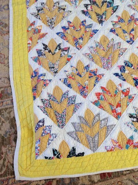 Ann Quilts: Art Deco Flowers ... or Fans: