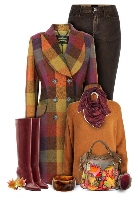 """Vivienne Westwood Colorful Fall Fashion"" by superstylist ❤ liked on Polyvore featuring River Island, Vivienne Westwood Anglomania, Diane Von Furstenberg, Sportmax, Halogen, Anuschka and Ben-Amun"