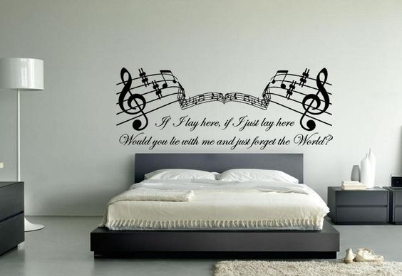Bedroom Kdrew Lyrics Of Latest Music Themed Wall Art Ideas For Bedroom Home