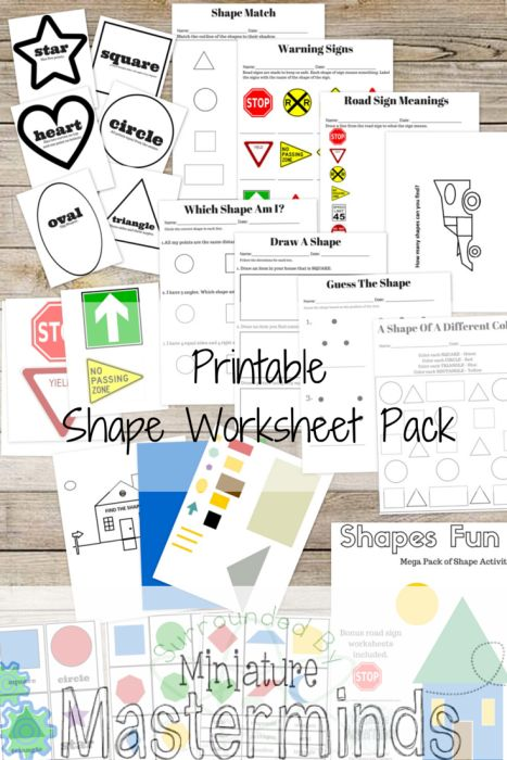 Mega Shapes Practice Pack This pack is full of shapes. Squares, triangles, circles…. They are there. This is a great pack for a mixed age group. Some activities included would be good for the older kids but can also be used differently for the younger group. Included in this pdf are shape matching games, shape... Read More »