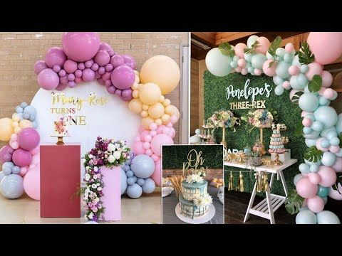 اعيادميلاد للبنات لعمر فوق 15 Some Birthdays Parties For Girls Whom Are In Plus 15 Youtube Table Decorations Decor Birthday