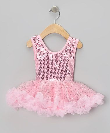 Take a look at this Pink Sequin Dress - Toddler & Girls by My Princess Academy on #zulily today!