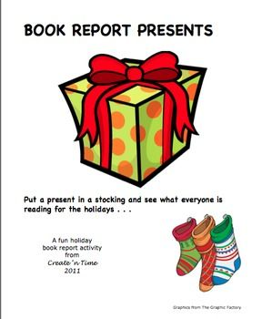 Holiday book report