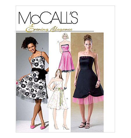 Super Sassy! I gotta make this!! 4460 - Misses/Miss Petite Dress. Sadly, it's out of print.