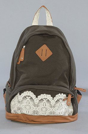 The Palma Backpack : Nila Anthony : Karmaloop.com - Global Concrete Culture