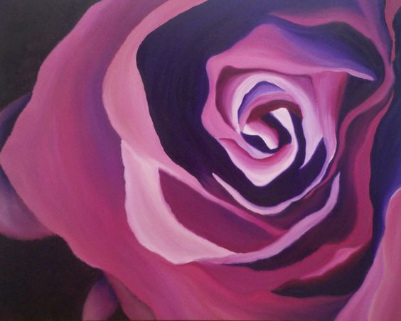 """Rose"" 24""x30""x7/8"" Original Oil Painting on Canvas, Made by Tali Lea #art #artist #oilpainting #painting #flower #rose #fineart"