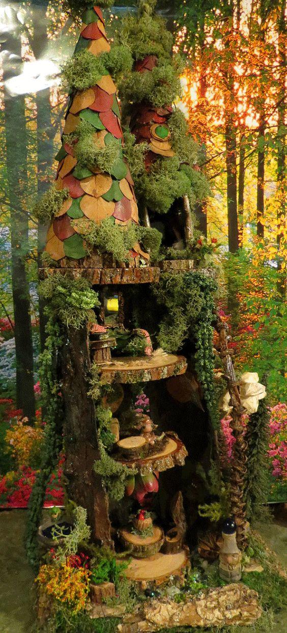 Fairy House Woodland Fairy Townhouse Fairy by ...
