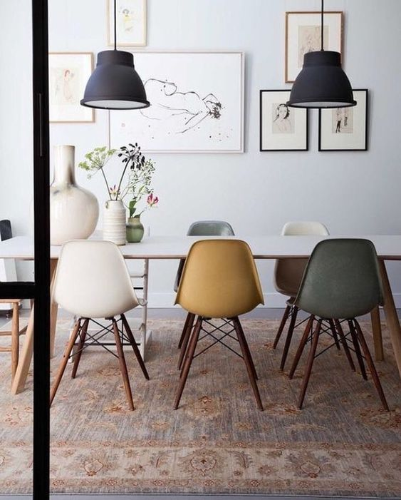 Really want one of these chairs to go with my hairpin desk! #studiogeorge #interiors #moderninteriors