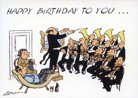 Geburtstagsspruch loriot