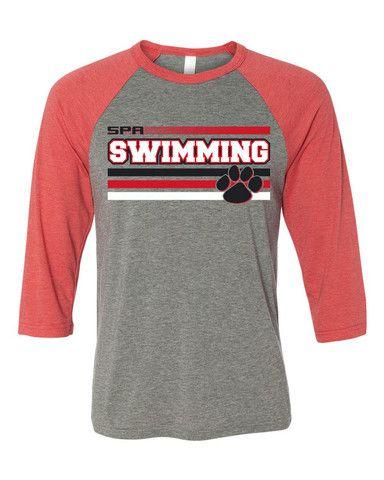 Swim Team Shirt Design