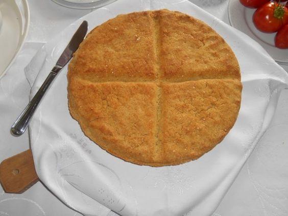 Bun made with corn flour