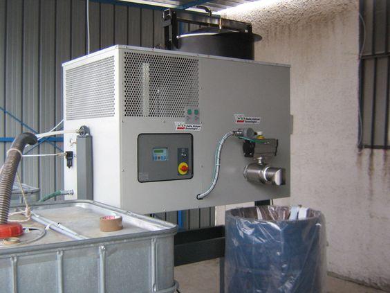 Máy thu hồi dung môi IST 122