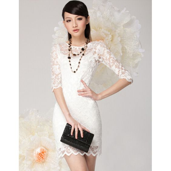 New 2015 Summer Style Sexy Women Solid Lace Patchwork Petal Sleeve Thin Perspective Sheath Super Mini Dress, Black, White, M, L - http://www.aliexpress.com/item/New-2015-Summer-Style-Sexy-Women-Solid-Lace-Patchwork-Petal-Sleeve-Thin-Perspective-Sheath-Super-Mini-Dress-Black-White-M-L/32360108041.html