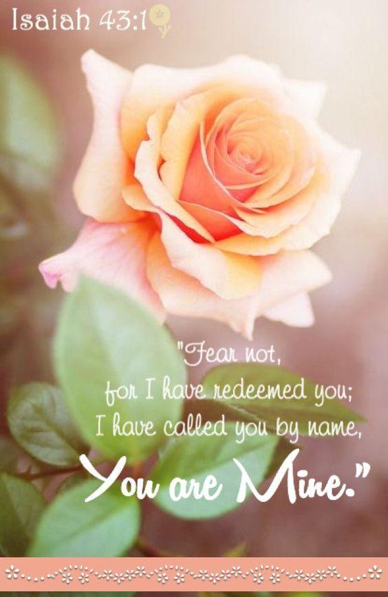 Isaiah 43:1b (1611 KJV !!!!):
