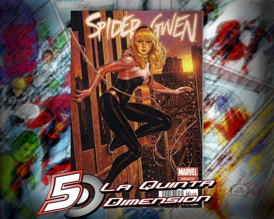 SPIDER-GWEN # 4 PORTADA VARIANTE $ 50.00 Para más información, contáctanos en http://www.facebook.com/la5aDimension