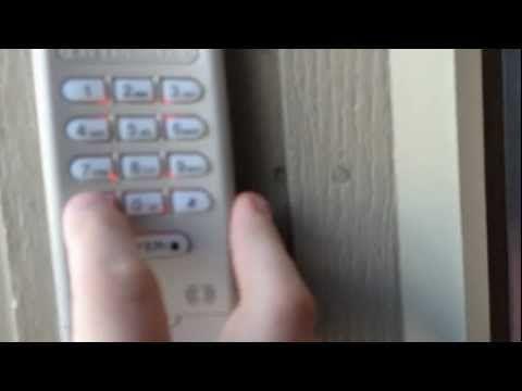Hd Liftmaster Garage Door Opener Keypad Reprogram Code And Set
