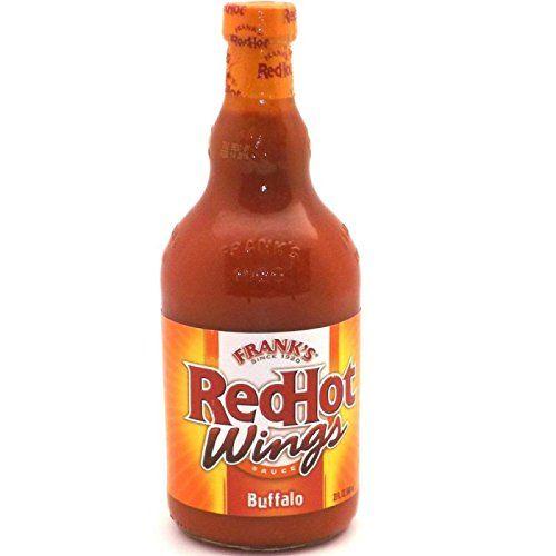 Frank's Red Hot Buffalo Wings Sauce, 23floz (680 ml) Bott…
