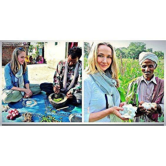 Hoje trabalhei num evento maravilhoso de Lançamento no MIS em SP promovido pela C&A. Ao assistir o documentário de quem lembrava o tempo todo: @verazimmermann  assiste Vera vc vai gostar grande parte das gravações na #Índia  aprendizado para produção orgânica vida sustentável muito importante disseminar essa idéia. #EuRecomendo #Assistam #OMundoPrecisaDaNossaAjuda #VamosEspalharEssaCultura #Organico #VidaSustentavel #Sustentabilidade #Conscientização O documentário For the Love of Fashion…