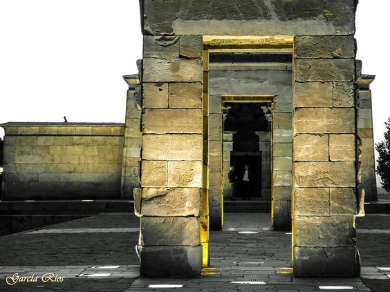 Templo de Debod. Madrid. by Manu García on 500px