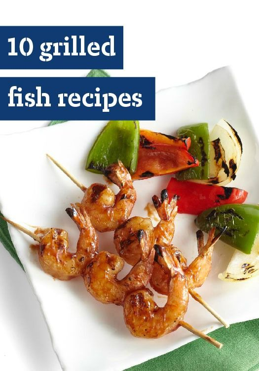 10 grilled fish recipes fresh fish on the grill is a for Fresh fish recipes