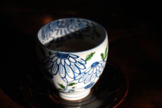 Green tea at Daizafu