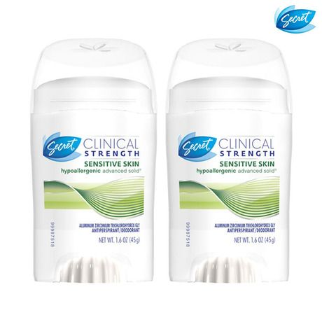 3-Pack: Secret Clinical Strength Solid Antiperspirant & Deodorants at 53% Savings off Retail!