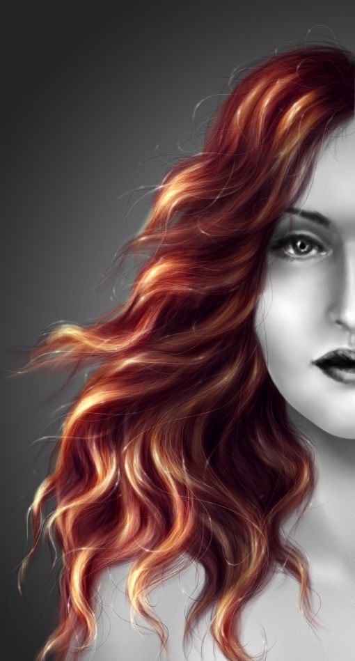 Another Hair Tutorial Worth1000 Tutorials Finaly How To Paint Hair But It Looks Sooo Challenging Re Pin N Hair Painting How To Draw Hair Watercolour Hair