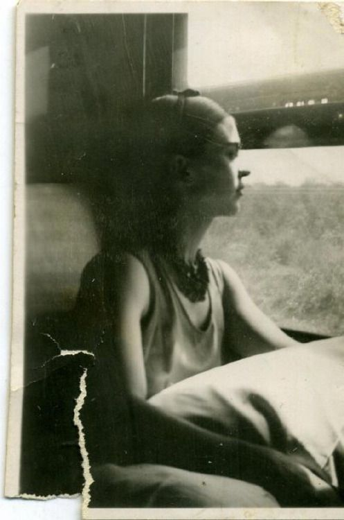 Frida by the Window / by Lucienne Bloch / 1932