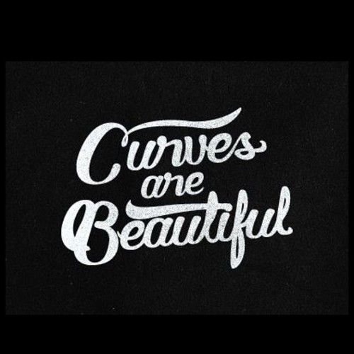Curves R beautiful quote big curvy plus size women are beautiful! Body consciousness accept your body real women