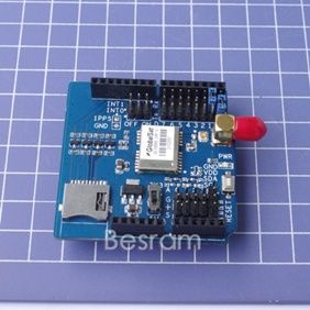 Arduino GPS Shield EB 5365 SD 3 3V 5V TF SPI INT0 48 Channel Sirf Star IV Cgee