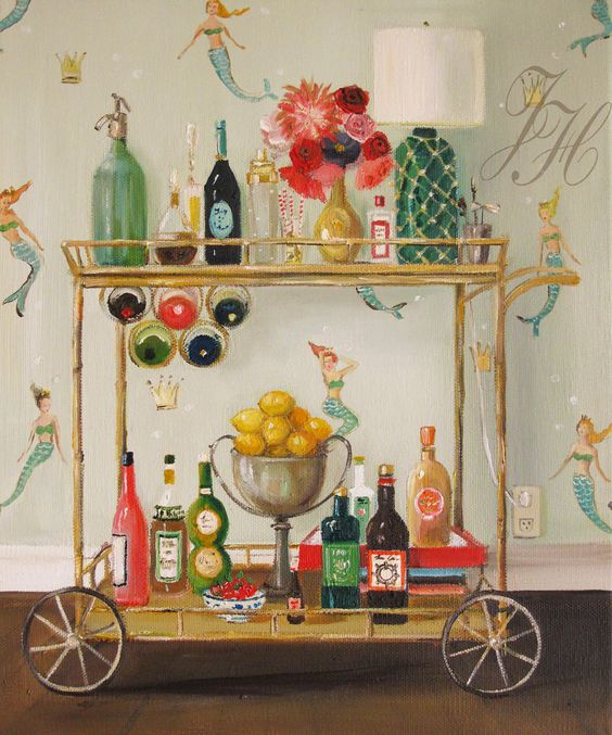 'Barmaids' By Janet Hill 2015: