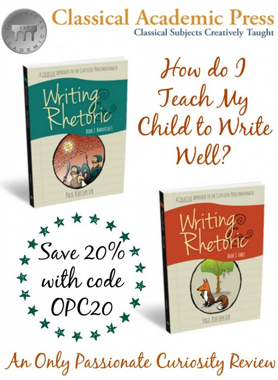 Writing and Rhetoric Review- Giveaway too!