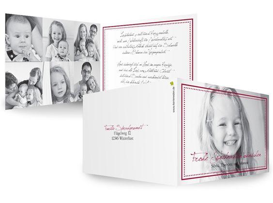 KartenEden Weihnachten Weihnachtskarten Bilderrahmen