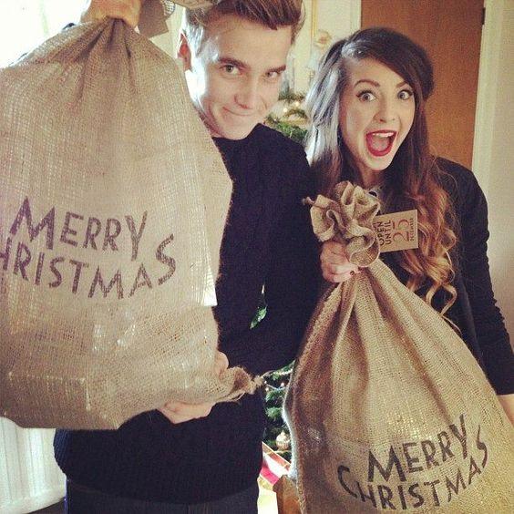 Zoella and Joe!! Love ya!!:D
