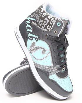 Buy Lana Heel Logo Cheetah Trim Sneaker Women's Footwear from Baby Phat. Find Baby Phat fashions & more at DrJays.com