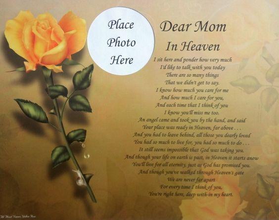 Loving Mom Poems 40