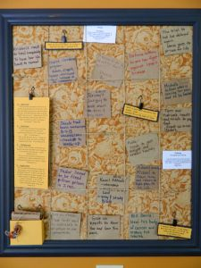 Prayer board - with great commentary if you follow the link