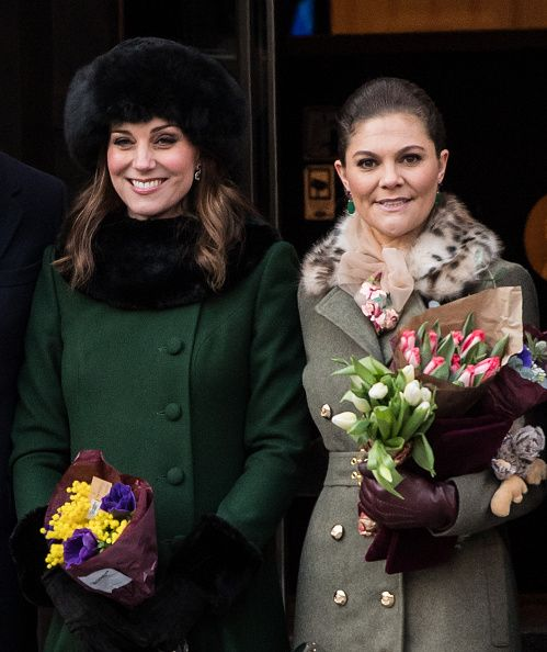 The Duke And Duchess Of Cambridge Visit Sweden And Norway - Day 1, 30 Jan. 2018