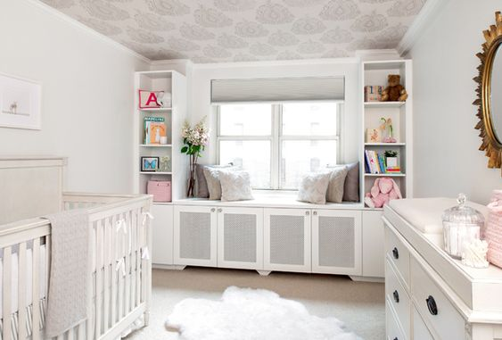 Adding built-ins can often be just what's needed in your child's room. We've rounded up great examples to help maximize your space! #storage